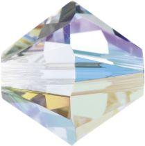 Swarovski Crystal Bicone 5328-6mm-Crystal AB
