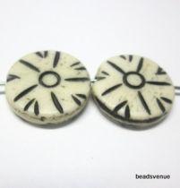 Bone Disc Bead-16x4mm