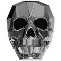 Swarovski 5750 Skull Bead -13mm- Crystal Silvernight
