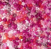 Swarovski  Bicone 5328-4mm Pink Mix