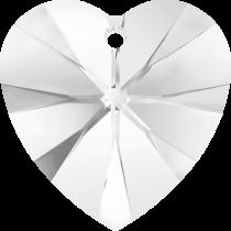 Swarovski Pendants Heart (6202)- 40mm -Crystal
