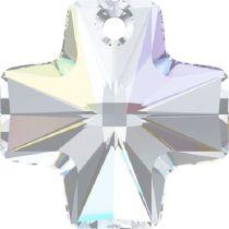 Swarovski Cross 6866-20mm Crystal AB