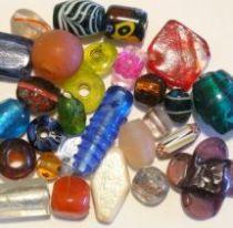 Mix Glass Beads -Chunky