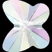 Swarovski Butterfly Beads - 6mm Crystal AB