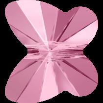 Swarovski Butterfly Beads - 10 mm Lt.Rose