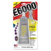E6000 Adhesive Jewel & Bead - 1oz.w/4 Tips & Cap Stopper