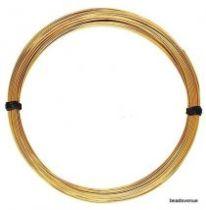 Gold Filled Round Wire (14k) Half Hard 14 Gauge