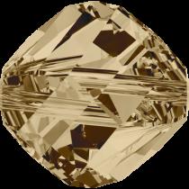 Swarovski Helix (5020) Bead -6mm -Crystal Golden Shadow