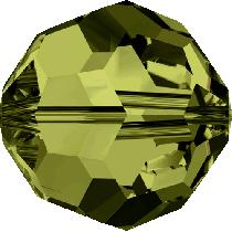 Swarovski  Round (5000) Bead-10mm -Olivine