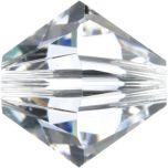 Swarovski Crystal Bicone 5328-8mm- Crystal