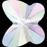 Swarovski Butterfly Beads - 10 mm Crystal AB